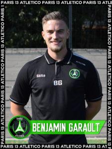 Benjamin Garault - Paris 13 Atletico
