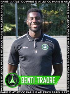 Benti Traoré - Paris 13 Atletico