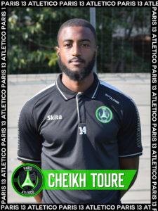 Cheikh Touré - Paris 13 Atletico