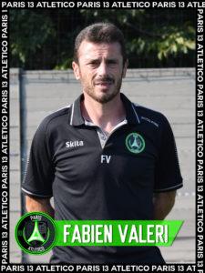 Fabien Valéri - Paris 13 Atletico