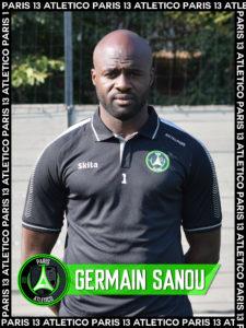 Germain Sanou - Paris 13 Atletico