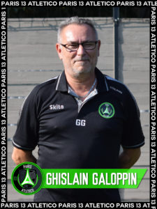 Ghislain Galoppin - Paris 13 Atletico