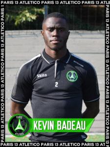 Kévin Badeau - Paris 13 Atletico