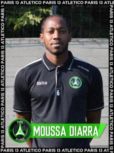 Moussa Diarra - Paris 13 Atletico