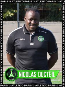 Nicolas Ducteil - Paris 13 Atletico