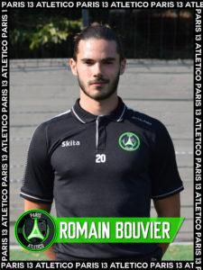 Romain Bouvier - Paris 13 Atletico