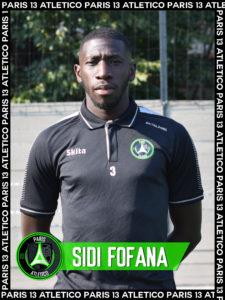 Sidi Fofana - Paris 3 Atletico