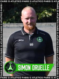 Simon Druelle - Paris 13 Atletico