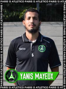 Yanis Mayeux - Paris 13 Atletico