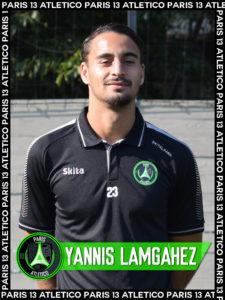 Yannis Lamgahez - Paris 13 Atletico