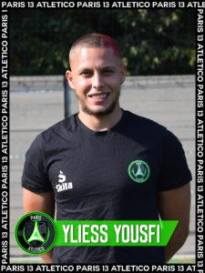 Yliess Yousfi - Paris 13 Atletico