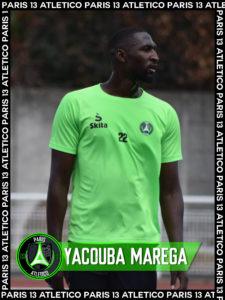 Yacouba Marega Paris 13 Atletico