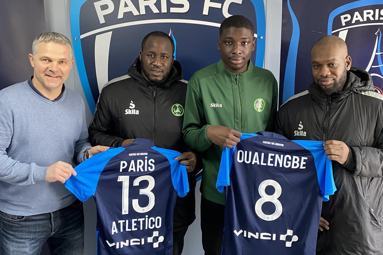 Gabriel Oualengbe - Paris 13 Atletico