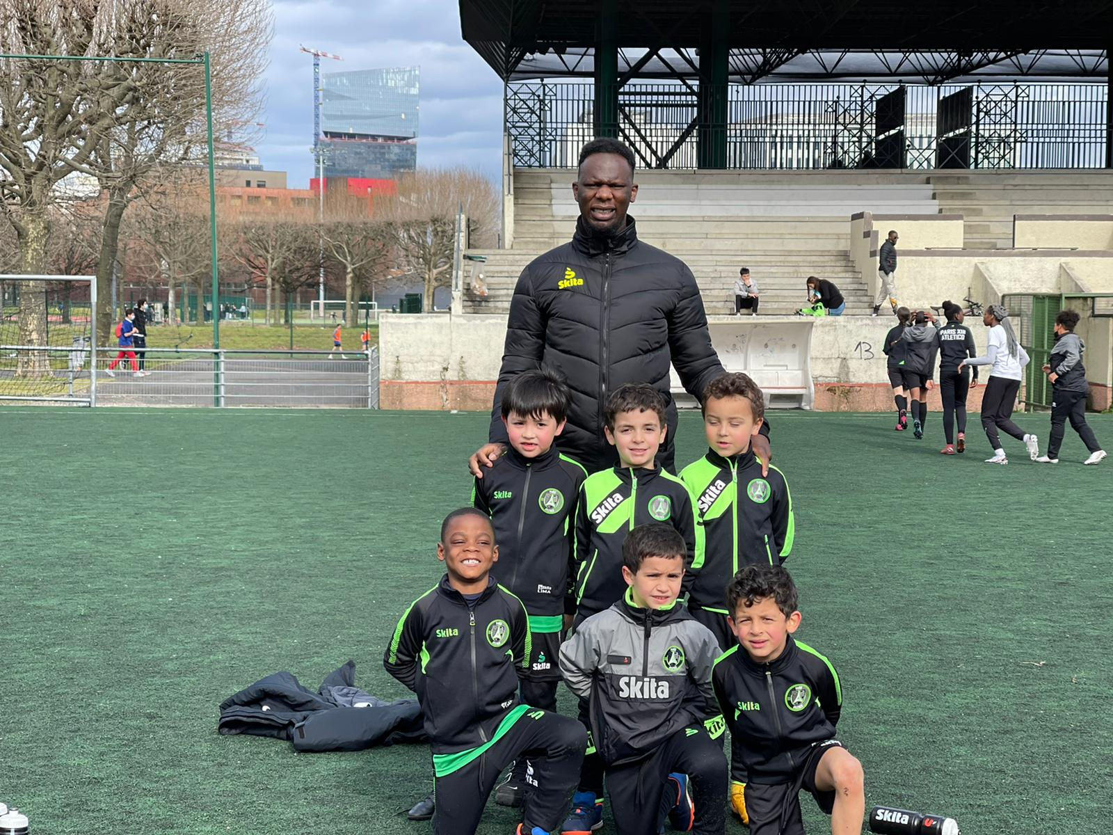 Cheick Baradji U6-U7 Paris 13 Atletico