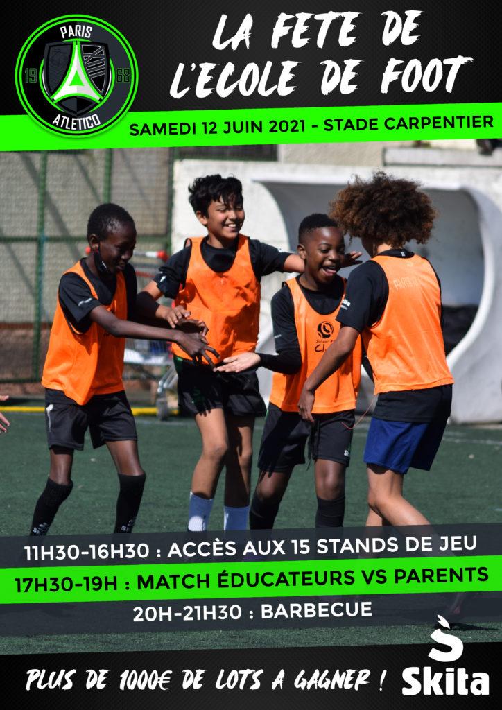 Fête de l'école de foot - Paris 13 Atletico