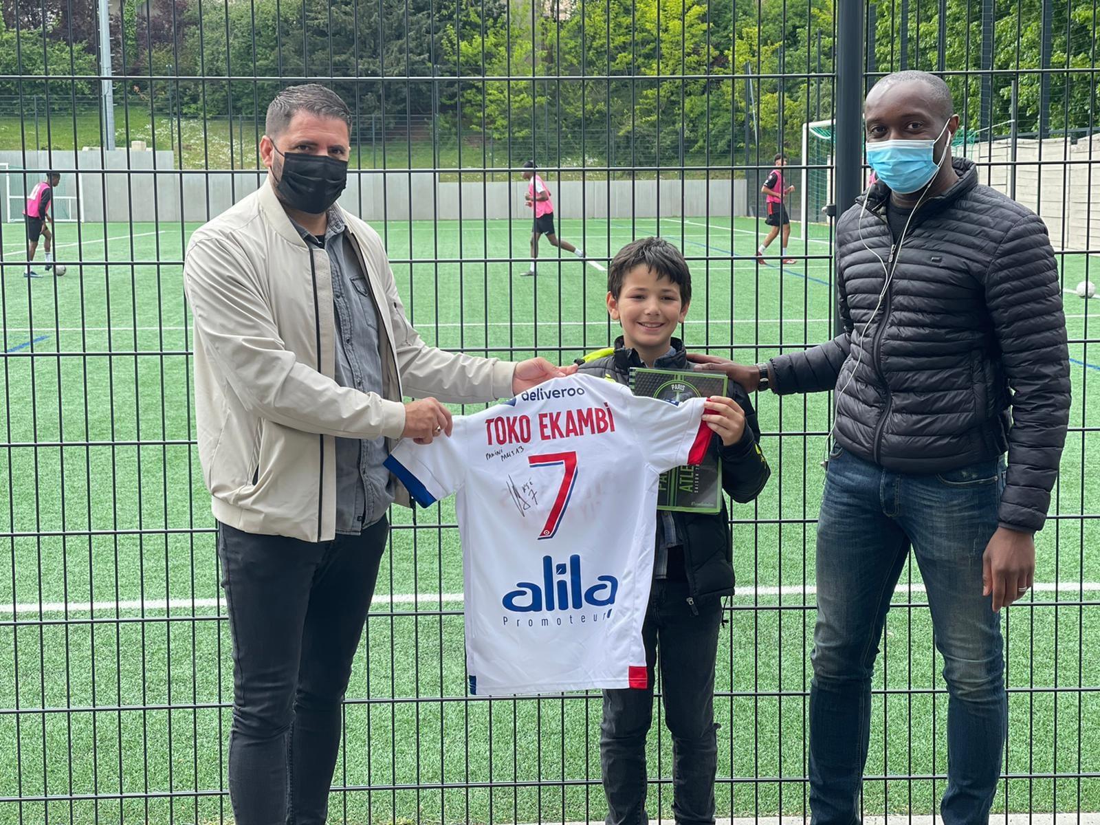 Ilyas Benchalal - Album du club - Paris 13 Atletico