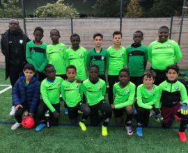 Yannis Mienanzambi U12 Paris 13 Atletico